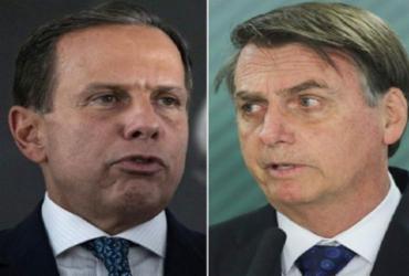 Data do início de vacinação gera disputa entre Bolsonaro e Dória | Reprodução