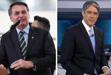 Bonner imita Bolsonaro no JN e presidente dispara: 'Bonner, você é o maior canalha que existe' | Marcos Côrrea| PR e Reprodução | Redes Sociais