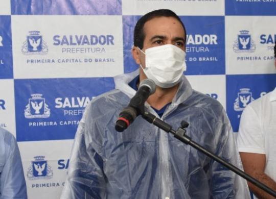 Bruno Reis descarta a possibilidade de Salvador viver colapso no sistema de saúde | Valter Pontes | Secom-PMS