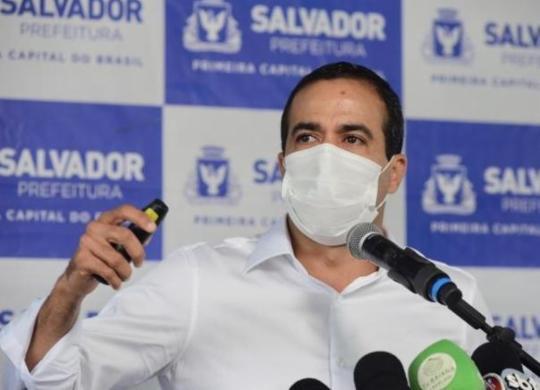 Bruno Reis confirma início da vacinação em Salvador para terça | Valter Pontes | Secom