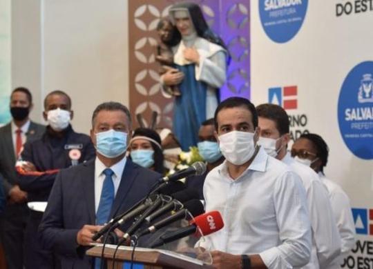 Mais de 20 mil pessoas devem ser vacinadas em Salvador com 1ª remessa da CoronaVac | Valter Pontes | Secom