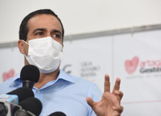 Prefeitura espera receber novo lote de vacinas até o fim da próxima semana   Valter Pontes   Secom