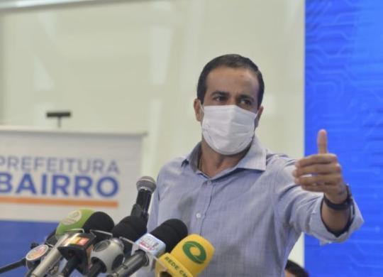 Bruno Reis afirma que Salvador recebeu o dobro de doses da vacina anunciadas | Shirley Stolze | Ag. A TARDE