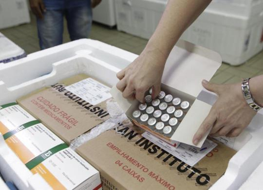 Bahia recebe terceiro lote de vacina contra a Covid-19 e amplia imunização | Mateus Pereira | Gov-BA