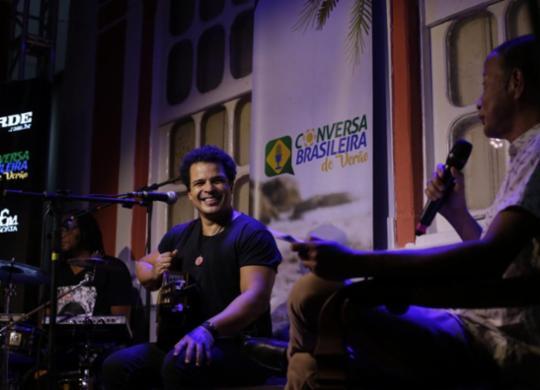 Adelmo Casé anima ouvintes na primeira edição do Conversa Brasileira de Verão   Adilton Venegeroles   Ag. A TARDE