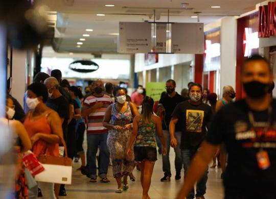 Segunda onda ameaça vendas no varejo   Rafael Martins   Ag: A TARDE   27.11.2020