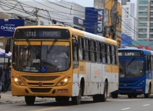 Transporte público será reduzido durante final de semana   Joá Souza I Ag. A Tarde