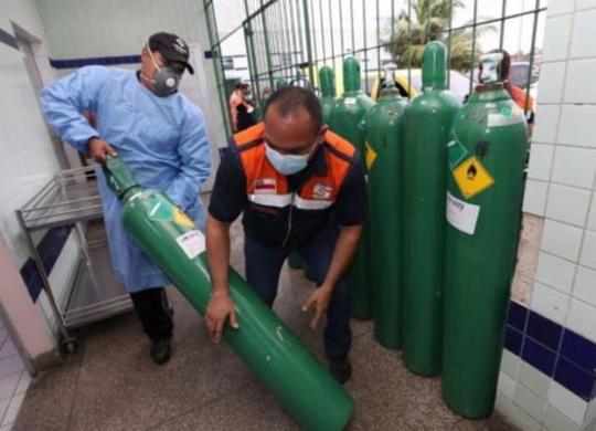 Cidade do interior do AM diz que sete pacientes morreram por falta de oxigênio | Herick Pereira | Secom