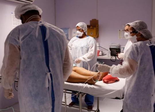 Plantão em posto de saúde expõe garra das equipes na luta diária para salvar vidas | Olga Leira | Ag. A TARDE