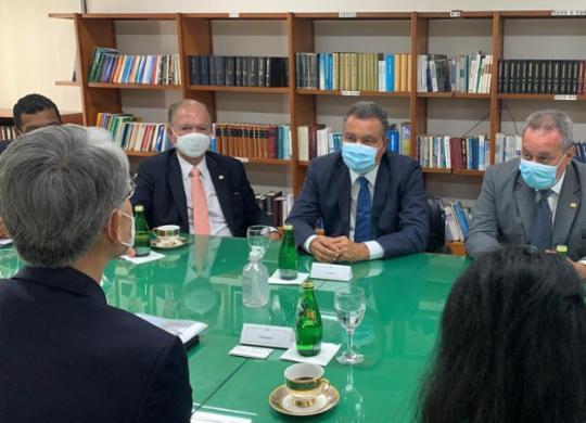 Rui Costa se reúne com embaixadores para atrair nova indústria e oportunidades ao estado | Carlos Prates | Gov-BA