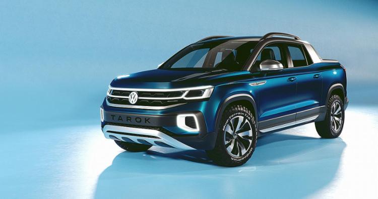 A picape Volkswagen Tarok vai concorrer com a Fiat Toro