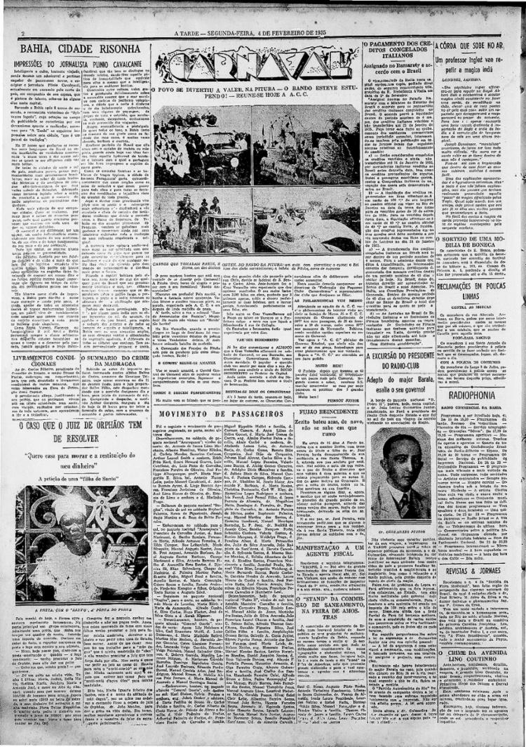 Filha da Mãe D´Água fez protesto na porta do Fórum para resolver questão sobre dinheiro emprestado e conseguir casa || 04.02.1935