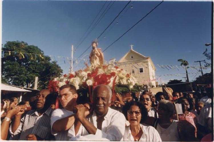 Este ano não acontecerá a procissão de São Lázaro devido à pandemia de coronavírus - Foto: Fred Passos | Cedoc A TARDE | 30.1.2000