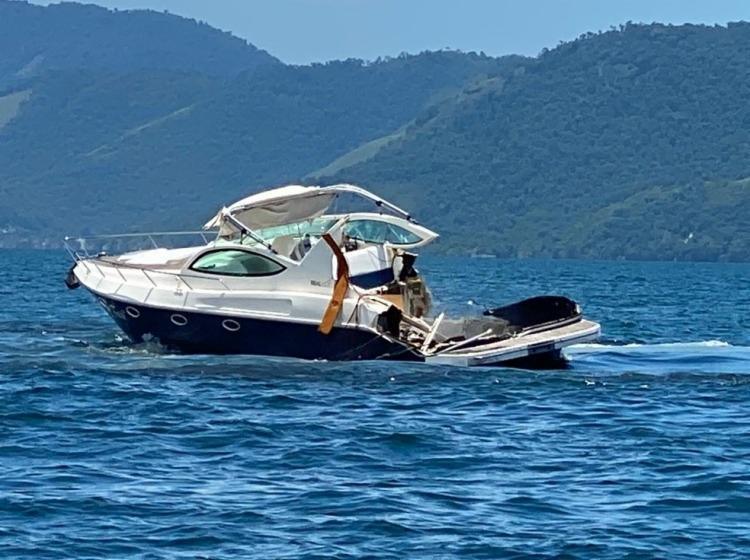 A Marinha abriu um inquérito para apurar as causas do acidente, que será encaminhado ao Tribunal Marítimo | Foto: Reprodução - Foto: Reprodução