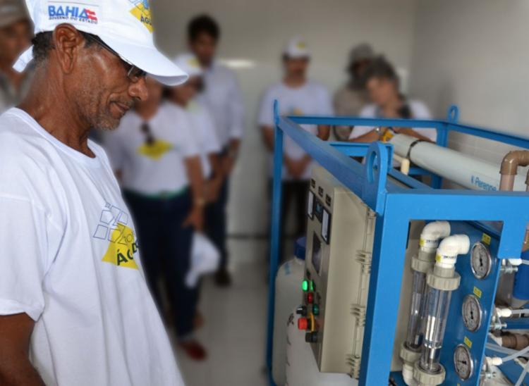 Os sistemas de dessalinização de água serão implantados ao longo de 2021 e 2022 | Foto: Divulgação - Foto: Divulgação