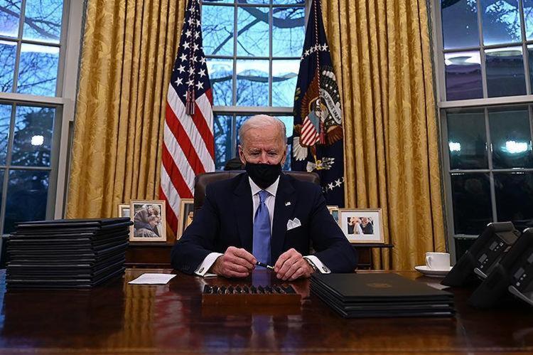Com Biden o mundo voltará a trilhar o caminho da democracia e da economia global | Foto: Jim Watson | AFP - Foto: Jim Watson | AFP