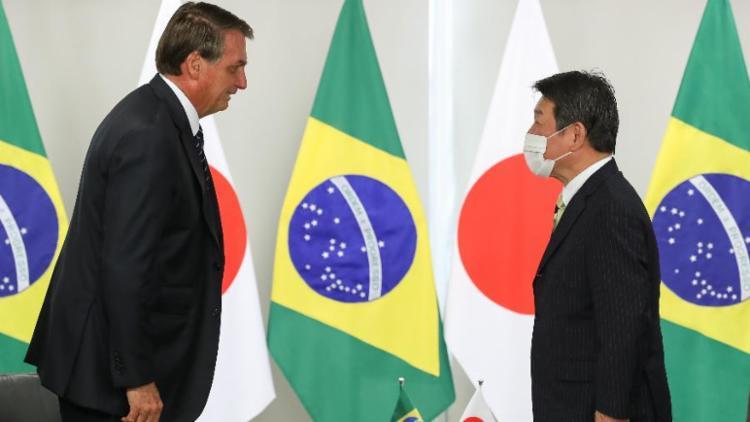 Presidente recebeu a visita de ministro japonês   Foto: Marcos Corrêa   PR - Foto: Marcos Corrêa   PR