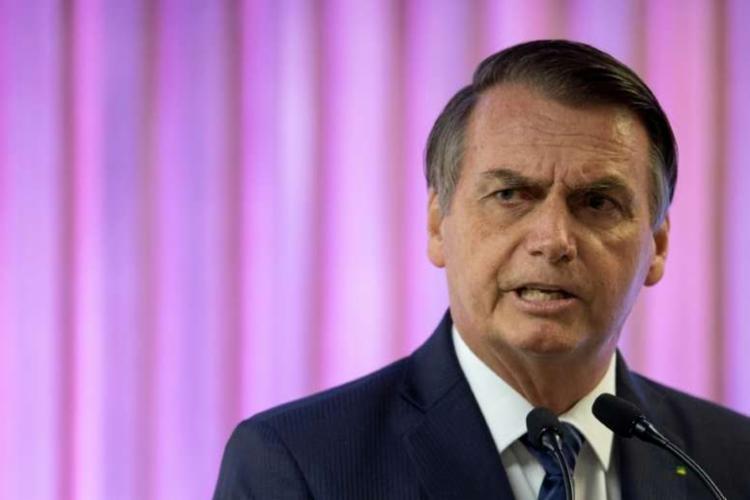Bolsonaro reclamou que o processo para a criação da sigla é muito burrocrático   Foto: Evaristo Sá   AFP - Foto: Evaristo Sá   AFP