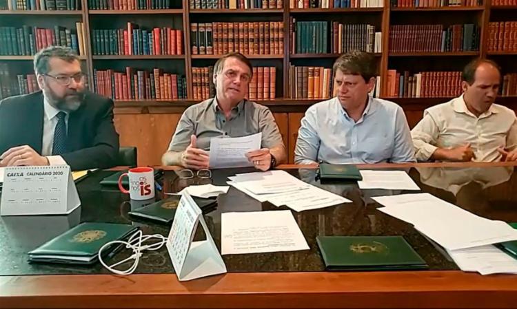 Bolsonaro negou qualquer problema político do governo brasileiro com Índia e China | Foto: Reprodução | Redes Sociais - Foto: Reprodução | Redes Sociais