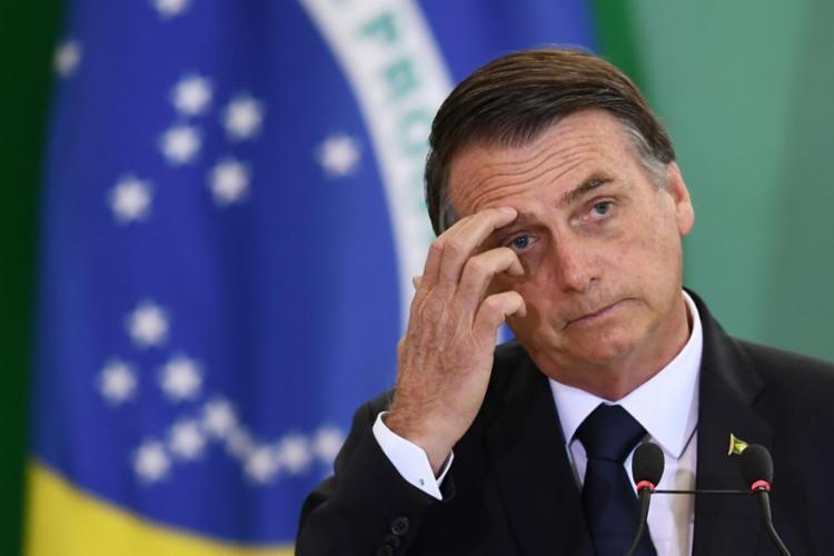 Presidente vive a maior queda nominal de aprovação desde o começo do governo | Foto: Evaristo Sá | AFP - Foto: Evaristo Sá | AFP