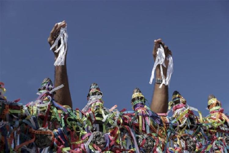 Tradicional celebração tem edição histórica devido à pandemia | Foto: Uendel Galter | Ag. A TARDE - Foto: Uendel Galter | Ag. A TARDE