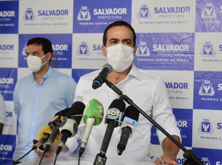 Para Bruno, constantes investidas de Bolsonaro contra os meios de comunicação contribuem para o enfraquecimento democrático do país - Foto: Betto Júnior | Secom-PMS