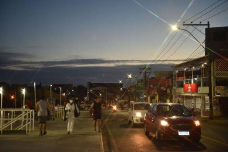 No total, são 3.910 pontos de luz em LED, distribuídos em 646 ruas I Foto: Max Haack I Secom PMS - Foto: Foto: Max Haack I Secom PMS