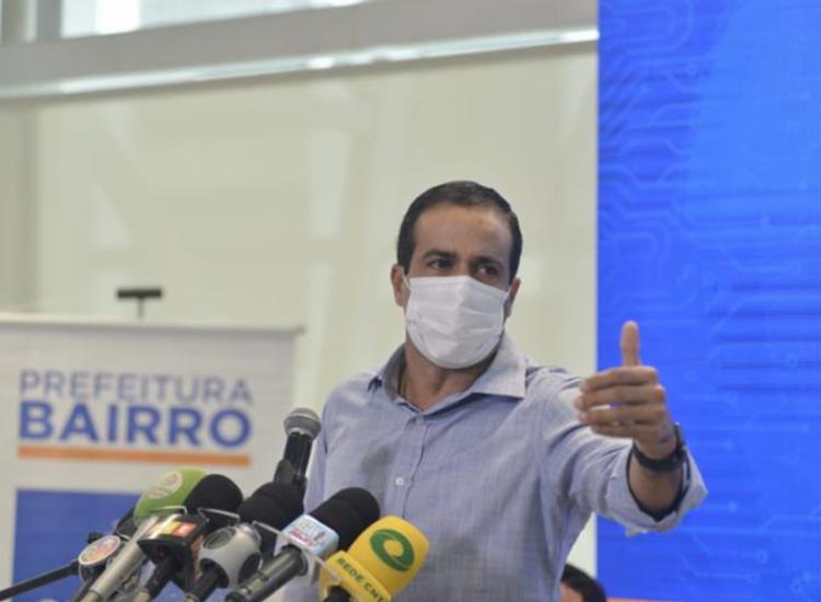 De acordo com o prefeito, uma nova mudança demandaria um tempo de adaptação prejudicial no enfrentamento à pandemia - Foto: Shirley Stolze   Ag. A TARDE