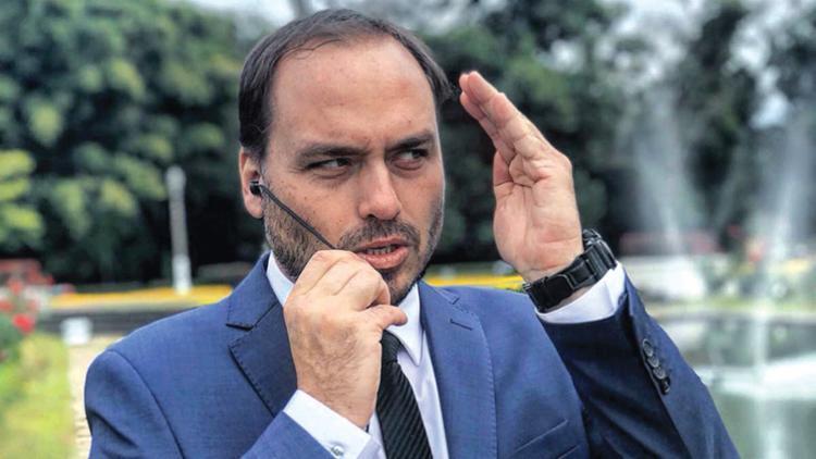Postagem do filho do presidente já teve mais de 6,6 mil curtidas   Foto: Divulgação - Foto: Divulgação