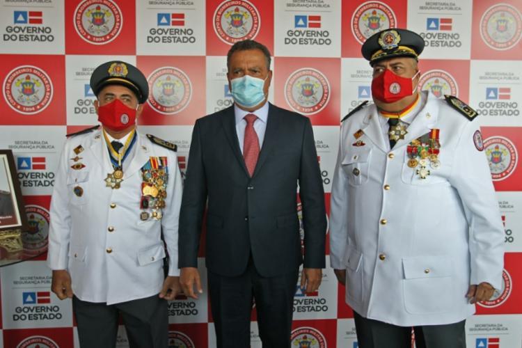 Governador Rui Costa participou da solenidade de transmissão de cargo   Foto: Divulgação