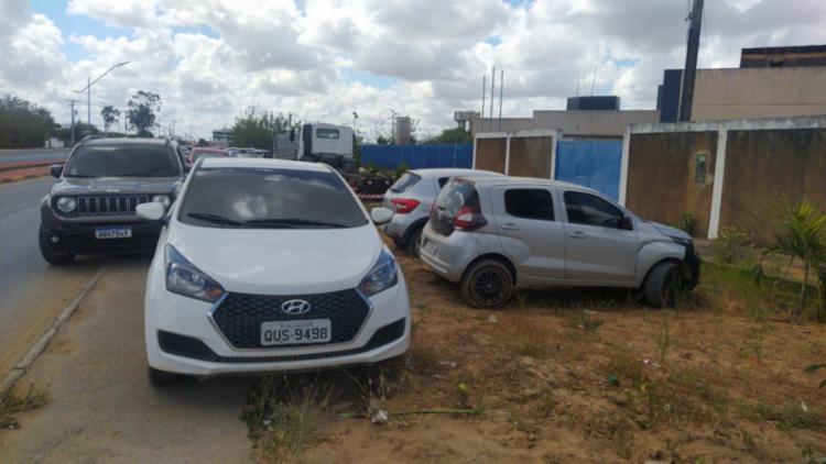 Segundo Delegado, automóvel avaliado em mais de R$ 50 mil era revendido por menos de R$ 10 mil | Foto: Divulgação | SSP - Foto: Divulgação | SSP