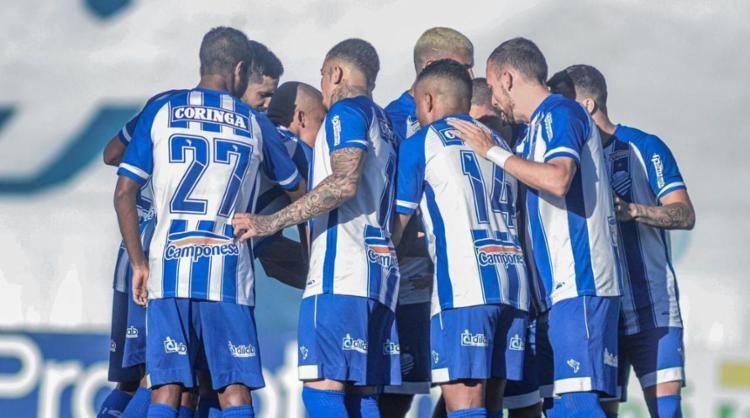 O Azulão levou a melhor em Ribeirão Preto e chegou aos 56 pontos | Foto: Augusto Oliveira | CSA - Foto: Augusto Oliveira | CSA