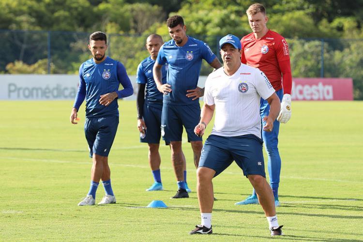 Dado Cavalcanti teve 10 dias para preparar equipe para jogo desta quarta-feira, 6 | Foto: Felipe Oliveira | EC Bahia - Foto: Felipe Oliveira | EC Bahia