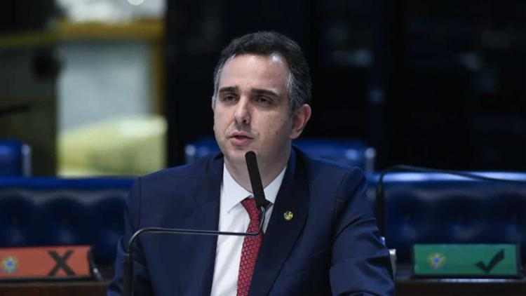 Anúncio foi feito após um almoço na residência oficial do presidente do Senado   Foto: Divulgação - Foto: Divulgação
