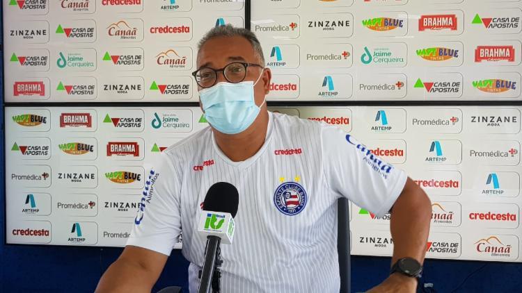 Luiz Sapucaia explicou a situação de peças importantes   Foto: Divulgação   E.C.Bahia - Foto: Divulgação   E.C.Bahia