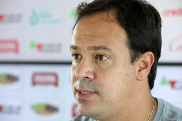 Mesmo assim, o treinador afirmou que ele poderá entrar no decorrer da partida   Foto: Felipe Oliveira   EC Bahia - Foto: Felipe Oliveira   EC Bahia