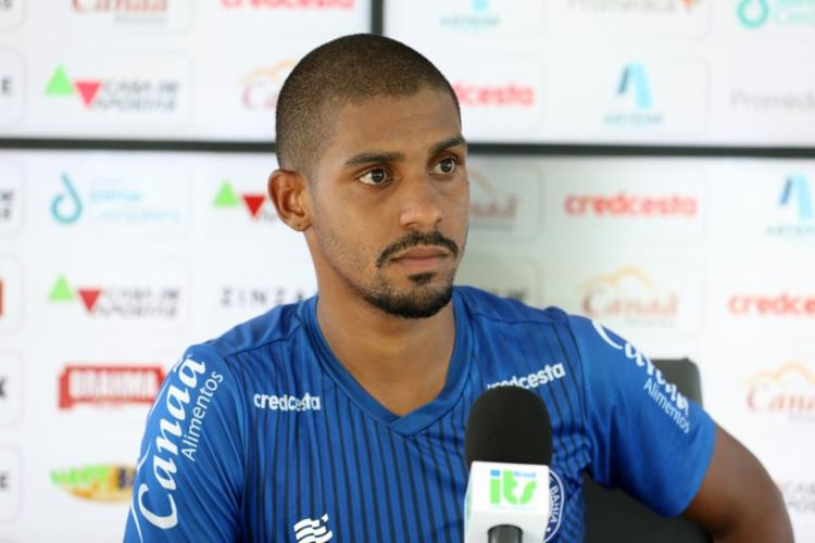 Ramon acredita que, daqui para frente, as partidas precisam ser encaradas como uma decisão | Foto: Felipe Oliveira | EC Bahia - Foto: Felipe Oliveira | EC Bahia
