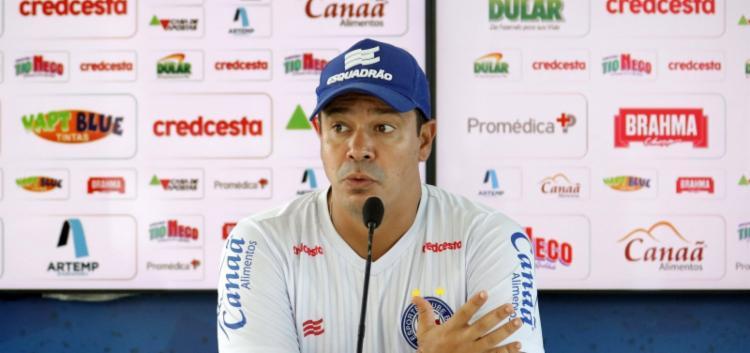 Treinador falou sobre promoção de atletas do time sub-20 | Foto: Felipe Oliveira | E.C.Bahia - Foto: Felipe Oliveira | E.C.Bahia