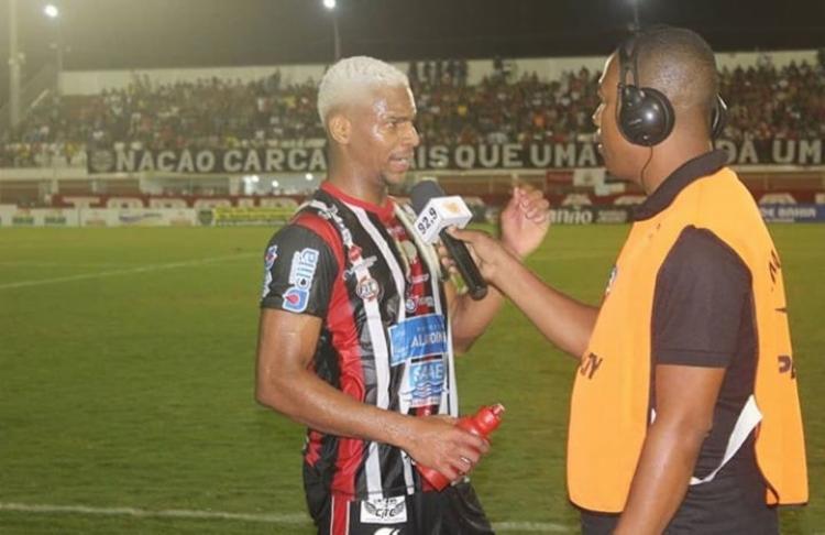 Atleta integrará time sub-23 do Esquadrão | Foto: Divulgação | Atlético de Alagoinhas - Foto: Divulgação | Atlético de Alagoinhas