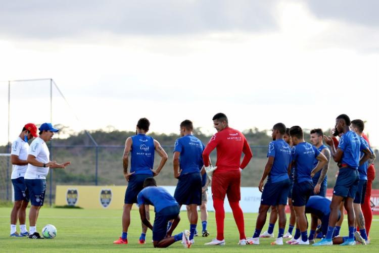 Bahia vai passar o fim de semana só treinando | Foto: Felipe Oliveira | EC Bahia - Foto: Felipe Oliveira | EC Bahia