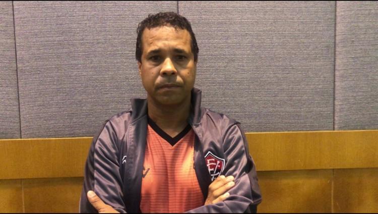 Rodrigo afirmou que quer o time com mais agressividade e poder de marcação | Foto: Divulgação | EC Vitória - Foto: Divulgação | EC Vitória
