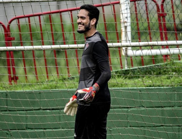 Goleiro pode retornar ao time neste sábado | Foto: Letícia Martins | E.C.Vitória - Foto: Letícia Martins | E.C.Vitória