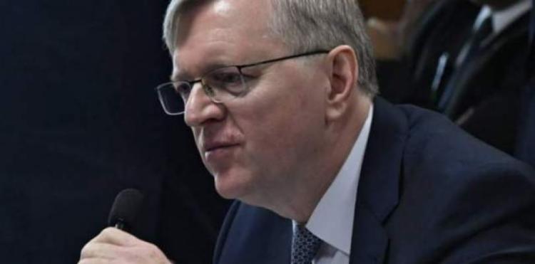 Em inglês, o diplomata afirmou estar ansioso para trabalhar com a nova gestão, para avançar numa dinâmica mais ampla da agenda Brasil-EUA I Foto: Agência Senado - Foto: Agência Senado
