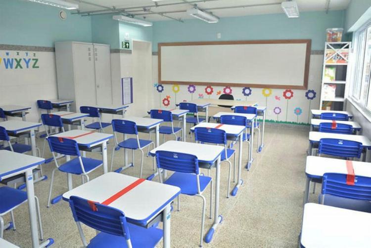 Entidades pedem a volta às aulas presenciais no estado | Foto: André Carvalho | SMED | PMS - Foto: André Carvalho | SMED | PMS