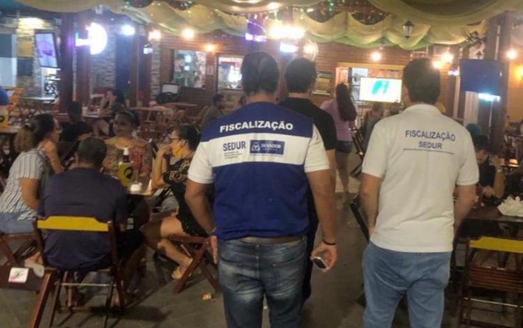 Foram realizadas vistorias em 1.238 estabelecimentos | Foto: Divulgação | Prefeitura de Salvador - Foto: Divulgação | Prefeitura de Salvador