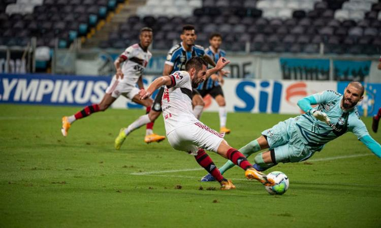 Rubro-Negro faz 4 a 2 e pula para a vice-liderança do Brasileiro | Foto: Alexandre Vidal | Flamengo - Foto: Alexandre Vidal | Flamengo