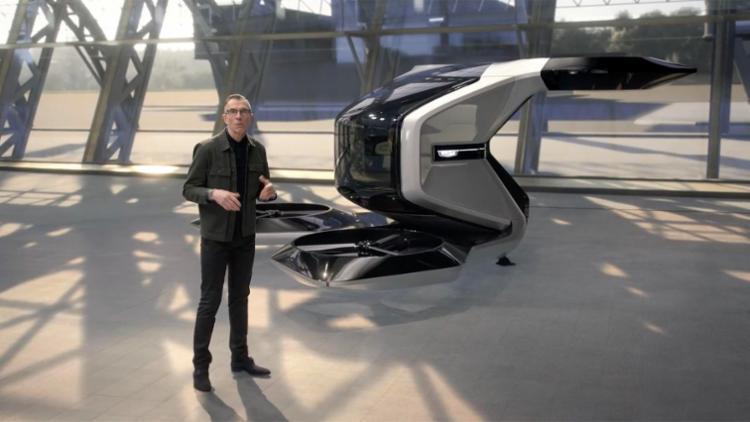 Foi apresentado um avião de um único assento, capaz de viajar de forma autônoma até 90 km por hora   Foto: Reprodução   YouTube - Foto: Reprodução   YouTube