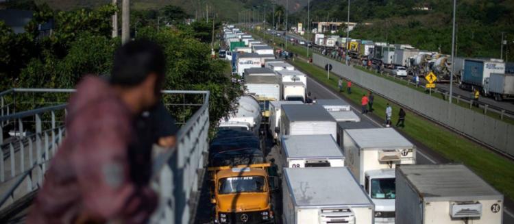 Há três anos, uma paralisação de 10 dias afetou todo o sistema de distribuição brasileiro | Foto: Mauro Pimentel | AFP - Foto: Mauro Pimentel | AFP