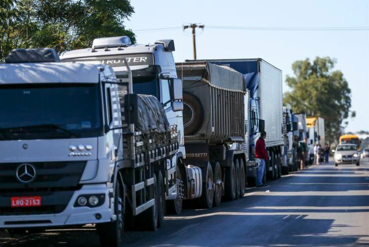 Alta do preço do diesel é o principal motivador da greve I Foto: Agência Brasil - Foto: Agência Brasil