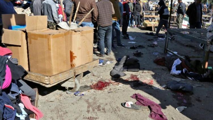 Ação deixou 32 mortos e 110 feridos em um concorrido mercado de Bagdá | Foto: AFP - Foto: AFP
